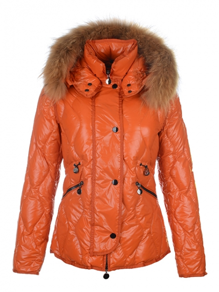 Moncler Women's Jacket Lontre Orange