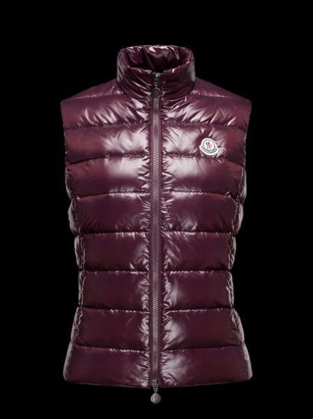Moncler Women's Sleeveless Sweater Ghany Purple