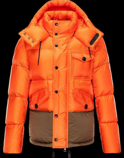 New Moncler Chamonix Jackets Orange
