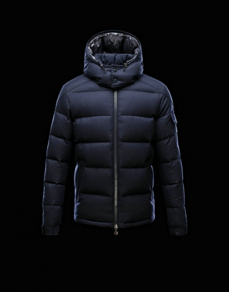 Men Moncler Jackets & Coats Montgenevre Blue