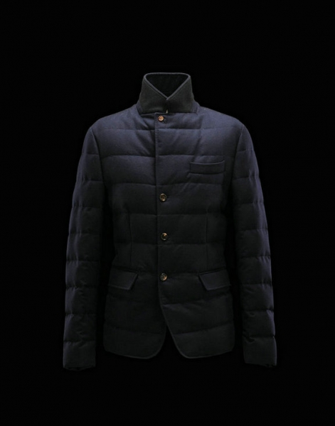 Men Moncler Jackets & Coats Rodin Blue