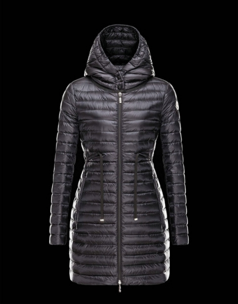 Women Moncler Down Jackets Barbel Black