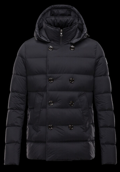 Moncler Jacket LOIRAC Pyrenex Men Hooded Jacket Black