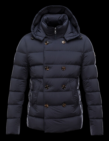 Moncler Jacket LOIRAC Pyrenex Men Hooded Jacket Blue