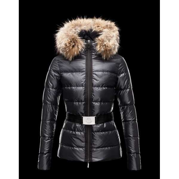 Moncler Jackets Angers Women Black