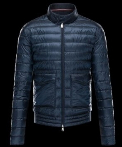 Moncler Jackets Faurge jacket men jacket Blue