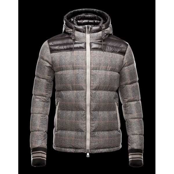 Moncler Jackets Mens Eusebe Brown