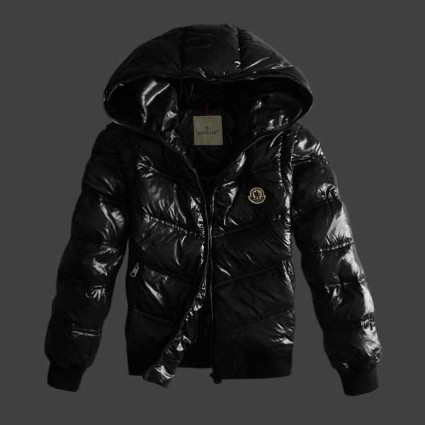 Moncler Jackets Mens Short Black