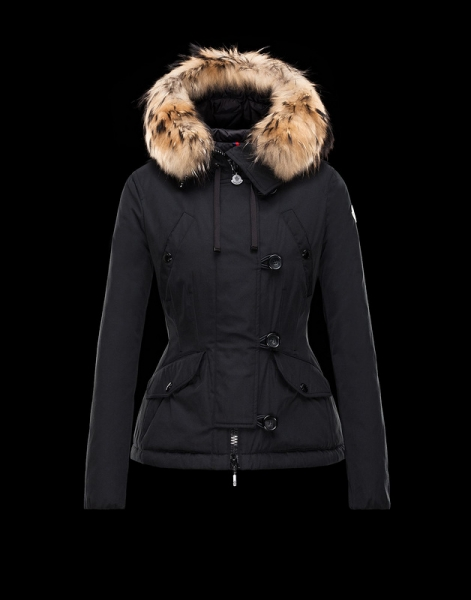 Moncler Acheter Women Jackets Black