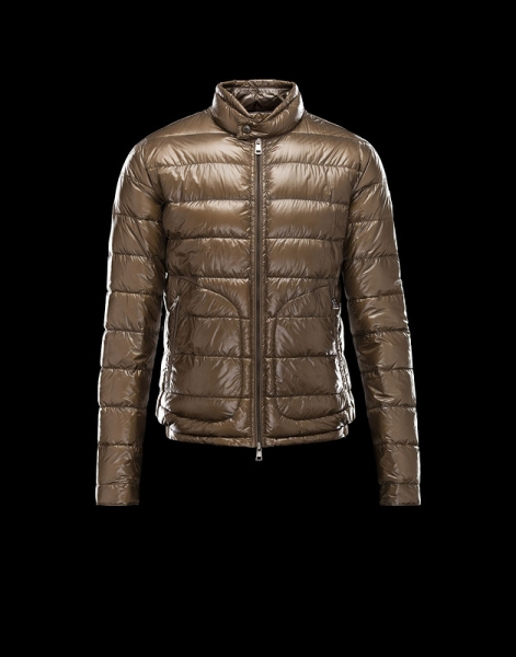 Moncler Acorus Down Jackets For Mens Coffee