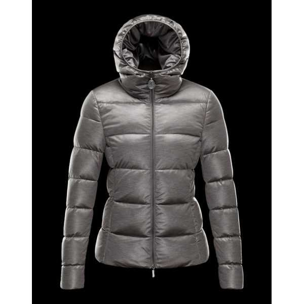 Moncler Jackets Women Jersey Grey