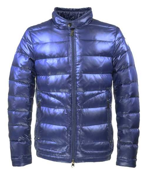 Moncler Acorus Euramerican Style Jackets For Mens Blue