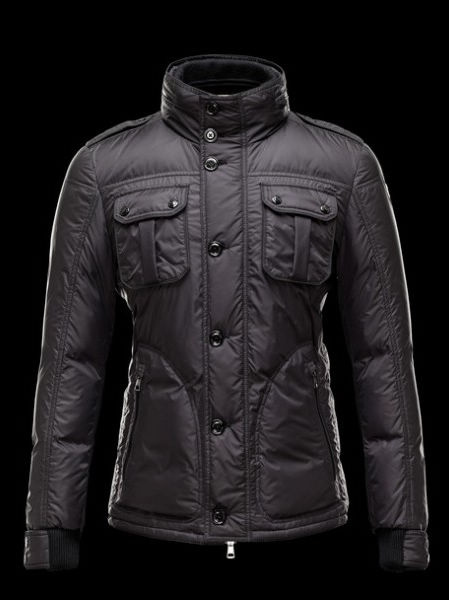 Moncler Men's Down Jacket Black