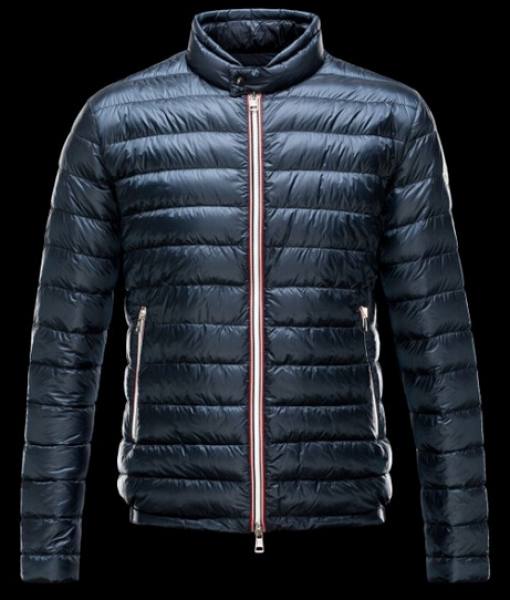 Moncler Men's Down Jacket Winter Parka Blue