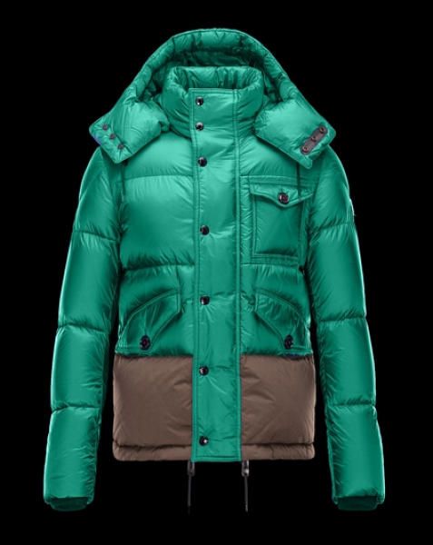 Moncler Men's Jacket CHAMONIX Green Hooded Jacket