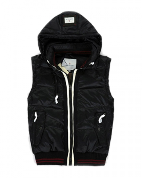 Moncler Men's Sleeveless Black