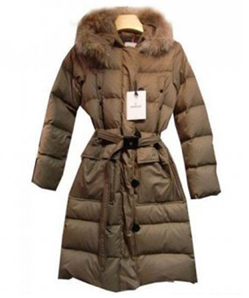 Moncler Messina Euramerican Style Womens Down Coats Apricot