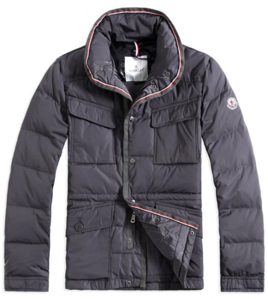 Moncler Millais Men Jacket Gray For Sale
