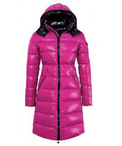 Moncler Nantes Classic Hot Sell Women Coat Zip Hooded Pink