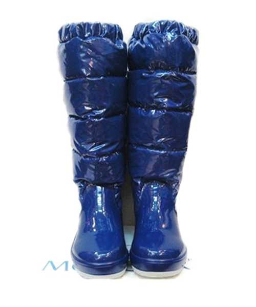 Moncler Nible Boots Women Blue Stylish And Generous