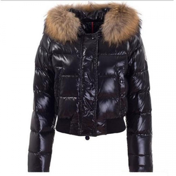 Moncler Alpin Women Jacket Black For Sale