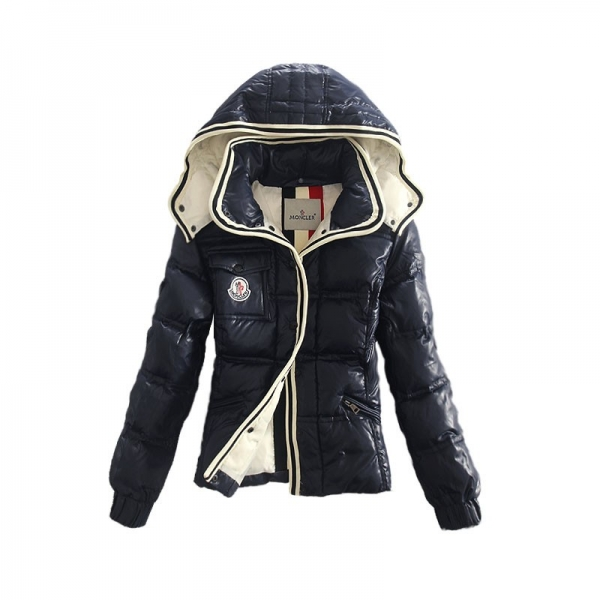 Moncler Alpine Dark Blue Jacket Women