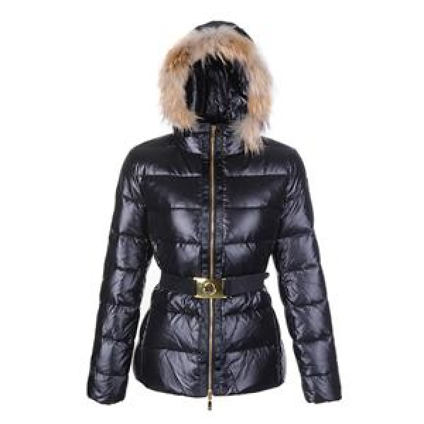 Moncler Angers Women Jacket Belted Black For Sale