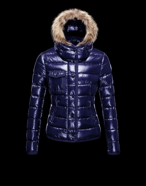 Moncler Armoise Down Jackets For Women Blue