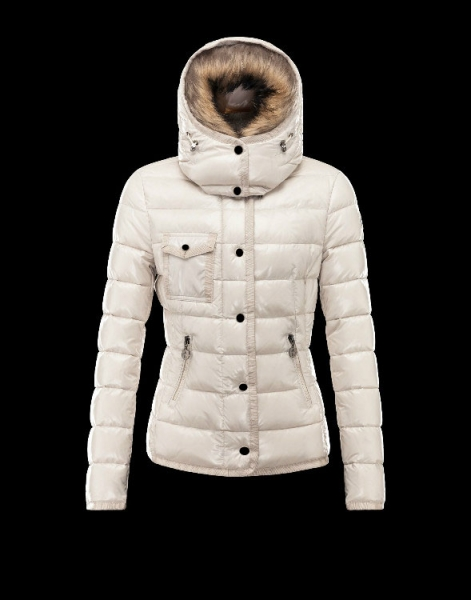 Moncler Armoise Down Jackets For Women White