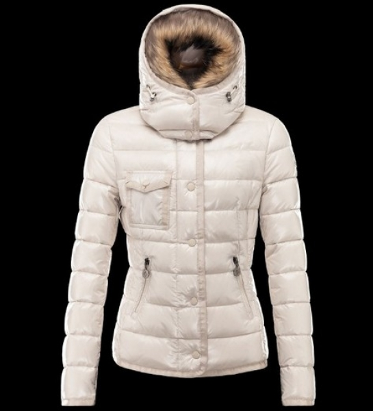 Moncler Armoise Winter Coat Women White