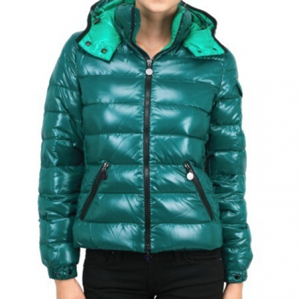 Moncler Baby Women Jacket Green For Sale
