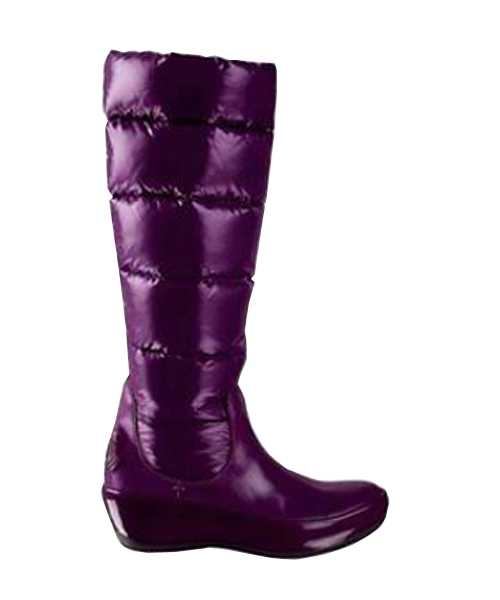 Moncler Boots Nible Purple Stylish And Generous