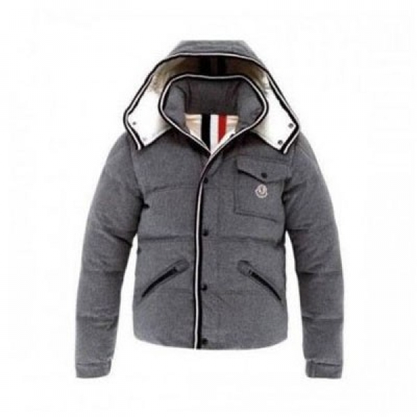 Moncler Branson Down Grey Jacket Men