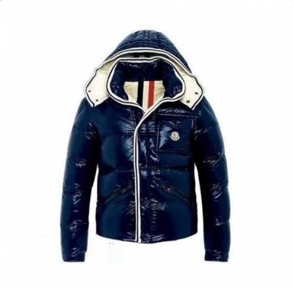 Moncler Branson Men's Winter Jacket Blue