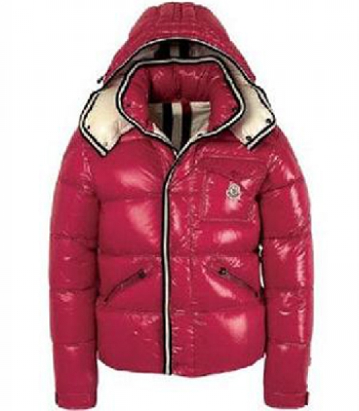 Moncler Branson Men's Winter Jacket Red