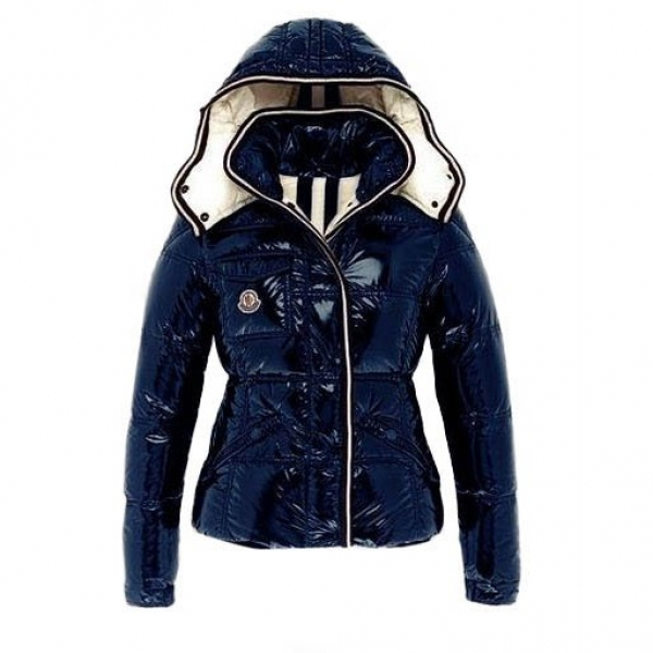 Moncler Branson Navy Blue Jacket Women
