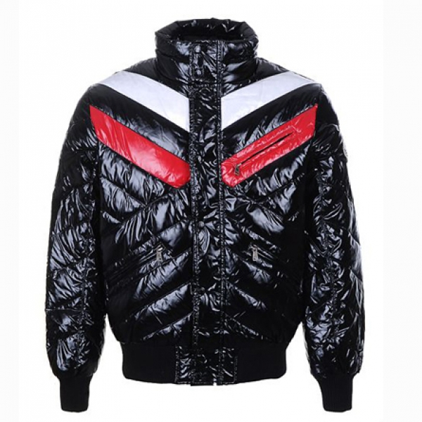Moncler Bubble Men Jacket Black For Sale