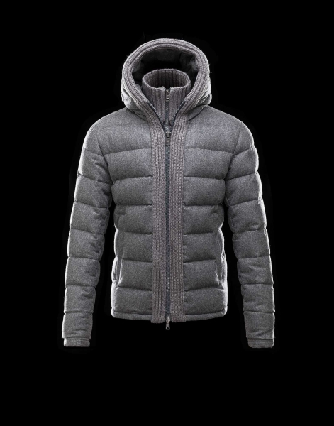 Moncler CANUT Design Mens Down Jackets Army Grey