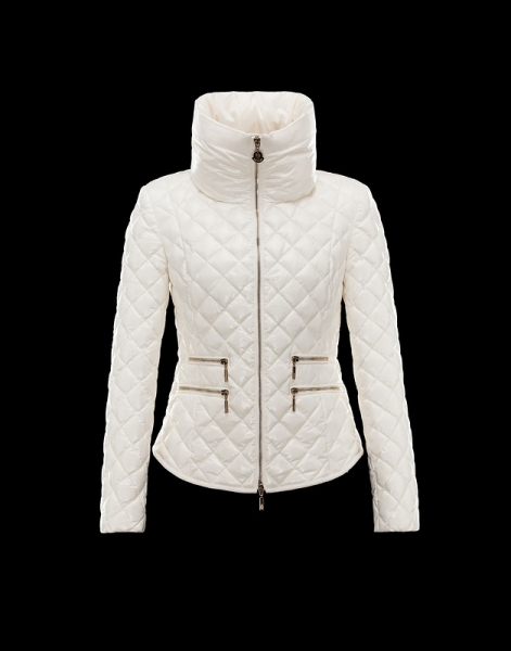 Moncler Champetre Popular Jackets Womens White