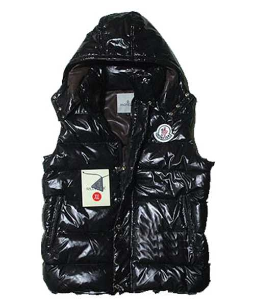 Moncler Cheval Sleeveless Down Vests Unisex In Black
