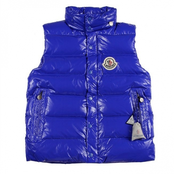 Moncler Clairy Dowe Sleeveless Blue Vest Men
