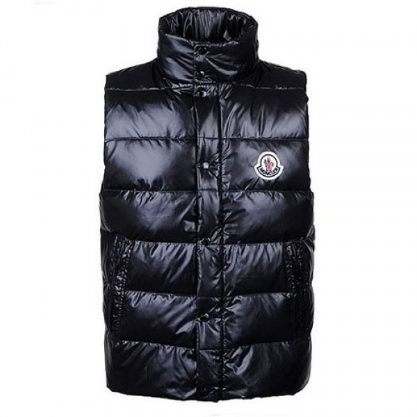 Moncler Clairy Mens Vest Black For Sale