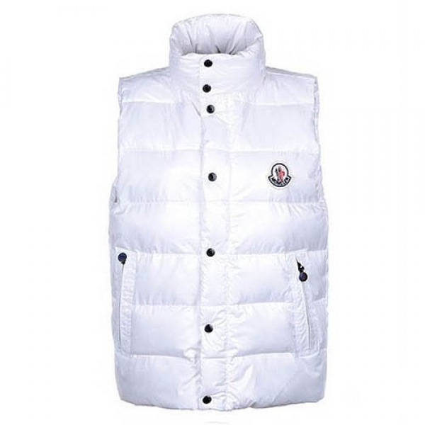 Moncler Clairy Mens Vest White For Sale