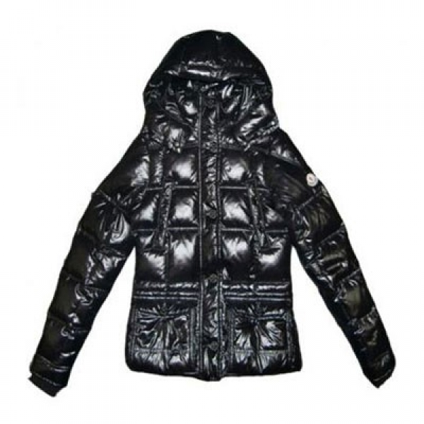 Moncler Cluny Down Black Jacket Women