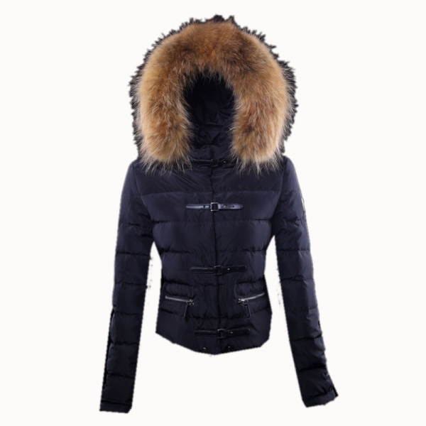 Moncler Crecerelle Down Jacket Women Black