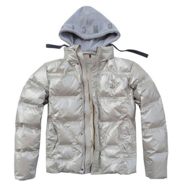Moncler Demountable Type Men Jacket Beige For Sale