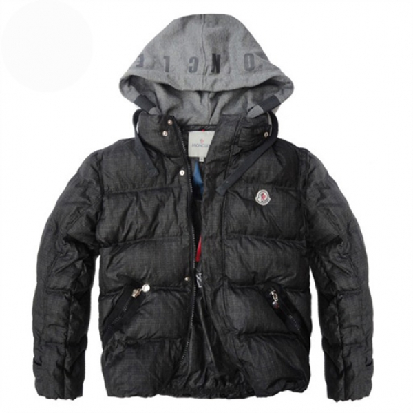 Moncler Demountable Type Men Jacket Black For Sale