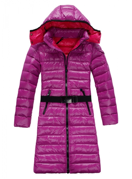 Moncler Down Coats Mokachine Pink Belt Hat