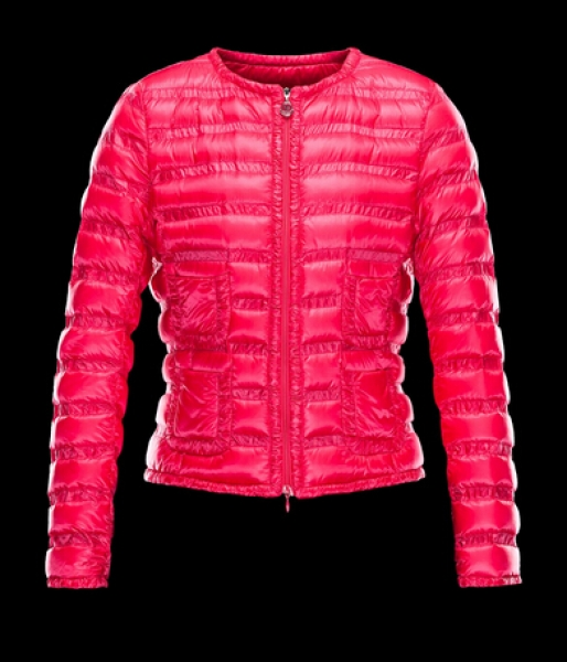 Moncler Down Jacket Women Down LISSY Jacket Red